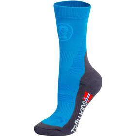 TROLLKIDS Trekking II Mid Cut Sokken Kinderen, blauw/grijs